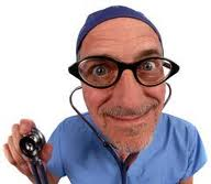 No, this isn't my doctor.  But he plays one on television.  (Photo credit google images dot com).